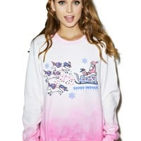 Cosmic Unicorn Sleigh Sweatshirt | Dolls Kill