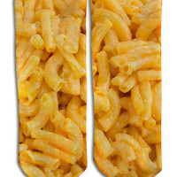 Mac N' Cheese Barely Show Socks - Mac N' Cheese Barely Show Socks