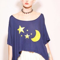 YELLOW MOON SUNNY TEE - UNITED COUTURE