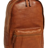 Men's Fossil 'Ledge' Leather Backpack