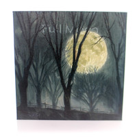 Halloween Full Moon Halloween Wall Art
