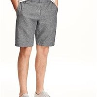 "Ultimate Slim-Fit Linen-Blend Shorts for Men (11"")"