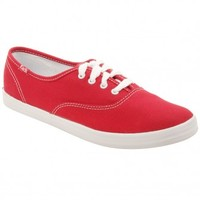Keds Womens Champion Originals Sneakers in Red
