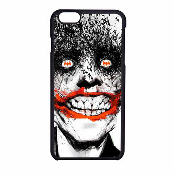 Joker Face Batman Enemy iPhone 6 Case