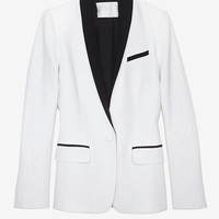 PREORDER A.L.C. Snow Leopard Jacquard Blazer-TUXEDO-TREND ALERT!-What To Wear-Categories- IntermixOnline.com