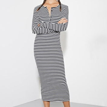 The Fifth Label Lazy Moon Stripe Dress