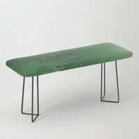 Field of Green Bench by duckyb
