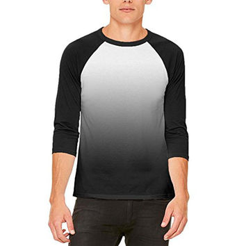 Fade to Black Mens Raglan T Shirt
