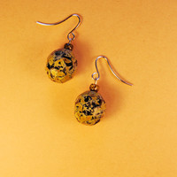 Czech Polished Beads Earrings