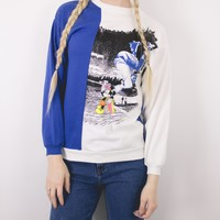 Vintage Skater Mickey Mouse Sweatshirt