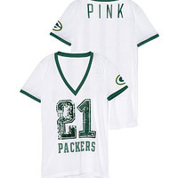 Green Bay Packers Bling Mesh Jersey - PINK - Victoria's Secret