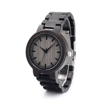 BoboBird Brand Design C30 Ebony Wooden Watch Japan 2035 Moven't Quartz Watches for Men Women with Wood Band Mens Watches Relogio