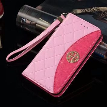 Perfect Tory Burch  Phone Cover Case For Samsung Galaxy s8 s8Plus note 8 iphone 6 6s 6plus 6s-plus 7 7plus 8 8plus X