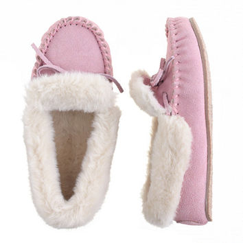 crewcuts Girls Lodge Moccasins