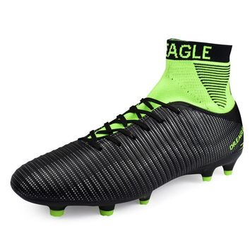Soccer Football Boot Shoes Professional Futsal Men High Cleats Soccer Original CR7 Socks Football Boot FOOTBALL WITH ANKLE BOOTS