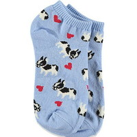 Boston Terrier Ankle Socks