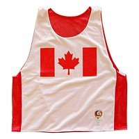 Canada Flag Day Lacrosse Pinnie