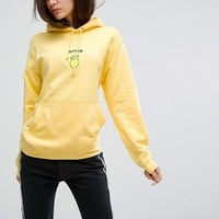 Adolescent Clothing Oversized Hoodie With Bitter Lemon Embroidery at asos.com