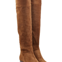 Chloé - Over-the-Knee Suede Boots