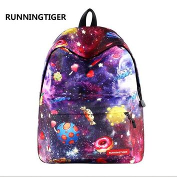 University College Backpack RUNNINGTIGER Universe Space Printed Women  Fashion School Bags for Girls Large Capacity s for  StudentsAT_63_4
