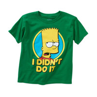 Boys' Bart Simpson Graphic Tee