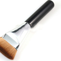 Women's Fashion Flat Contour Brush Blush Blend Makeup Comestic Beauty