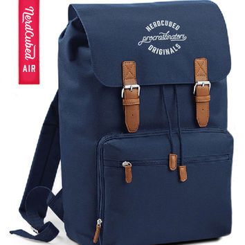 NerdCubed Digital Backpack and Keyring - Ltd. Ed. Navy
