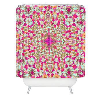 Ingrid Padilla Poetry 1 Shower Curtain