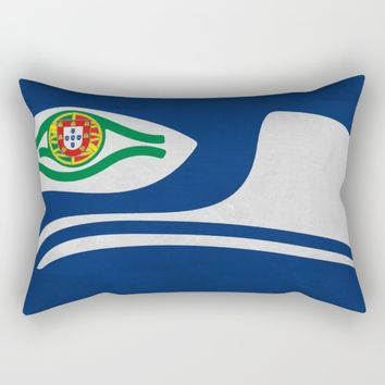 Portuguese Hawks culture Rectangular Pillow by Tony Silveira