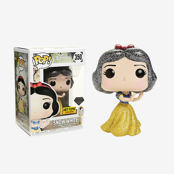 Funko Disney Diamond Collection Snow White And The Seven Dwarfs Pop! Snow White Vinyl Figure Hot Topic Exclusive