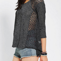 Urban Outfitters - Staring At Stars Textured Raglan Top
