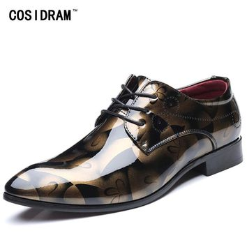 Patent Leather Oxford Men's Formal Shoes