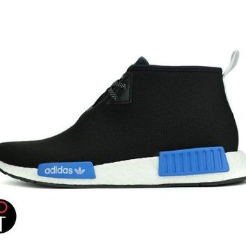 CREYONY8 ADIDAS X PORTER NMD C1 7-13 BLACK BLUE WHITE CP9718 JAPAN CHUKKA CITY SOCK BOOST