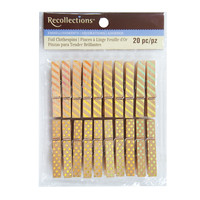 Medium Gold Clothespins By Recollections™