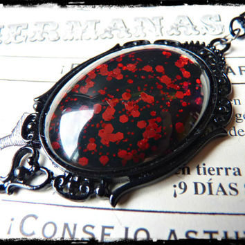 Dragon Blood Gothic Necklace
