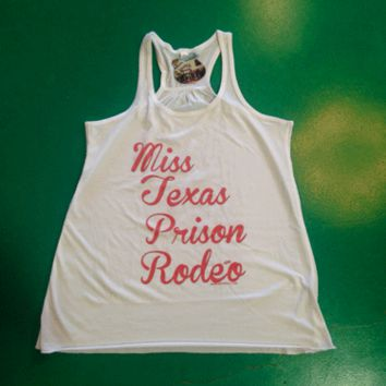 Gina Miss Texas Prison Rodeo Tank