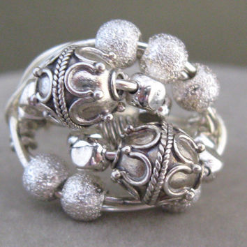 Sterling Ring Wire Wrapped Original Design