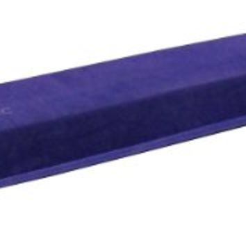 Z-Athletic Purple Gymnastics Folding Training Low Beam (9 Feet)