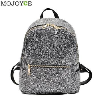 Student Backpack Children Fashion Women Glitter Sequins Backpacks Shining Blingbling Backpacks for Teenager Girls Shoulder Bag Student Travel Schoolbags AT_49_3