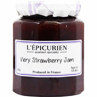 Epicurien Very Strawberry Jam 11.6 oz