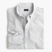 J.Crew Mens Vintage Oxford Shirt In Night Black Stripe