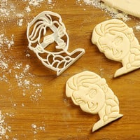 Elsa - Cookie Cutter baking tool baking tools and equipment and their uses essential baking tools baking utensils best baking tools C014