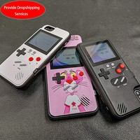 Full color display Xs Max GameBoy phone case for iphone