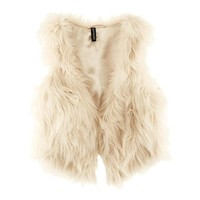 Zeagoo 2014 Autumn Winter Sleeveless Warm Faux Fur Short Vest Jacket Waistcoat Coat