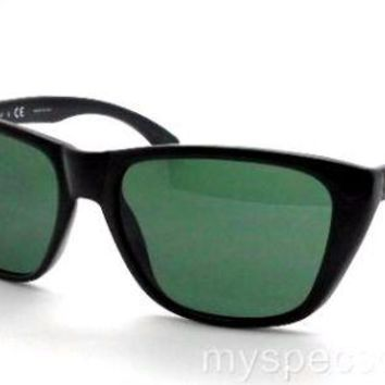 Cheap Ray Ban Kids Wayfarer 9053 100/71 Black Green 51 New Authentic outlet