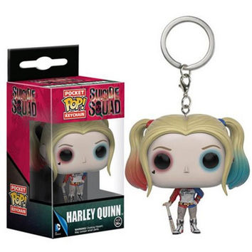 Suicide Squad Harley Quinn Funko POP! Keychain