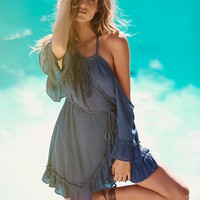 Free People Ray of Sun Wrap Tunic