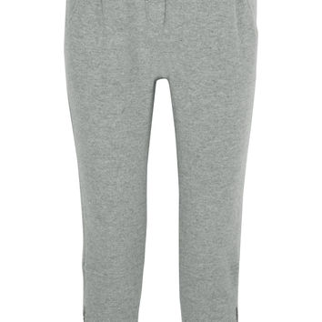 Brunello Cucinelli - Wool and cashmere-blend track pants