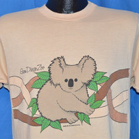 80s San Diego Zoo Baby Koala Bear 2 Sided t-shirt Medium