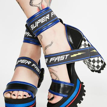 Finish First Moto Heels